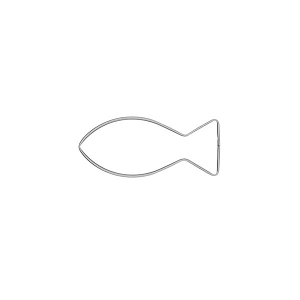 Christenfisch klein - Keksausstecher