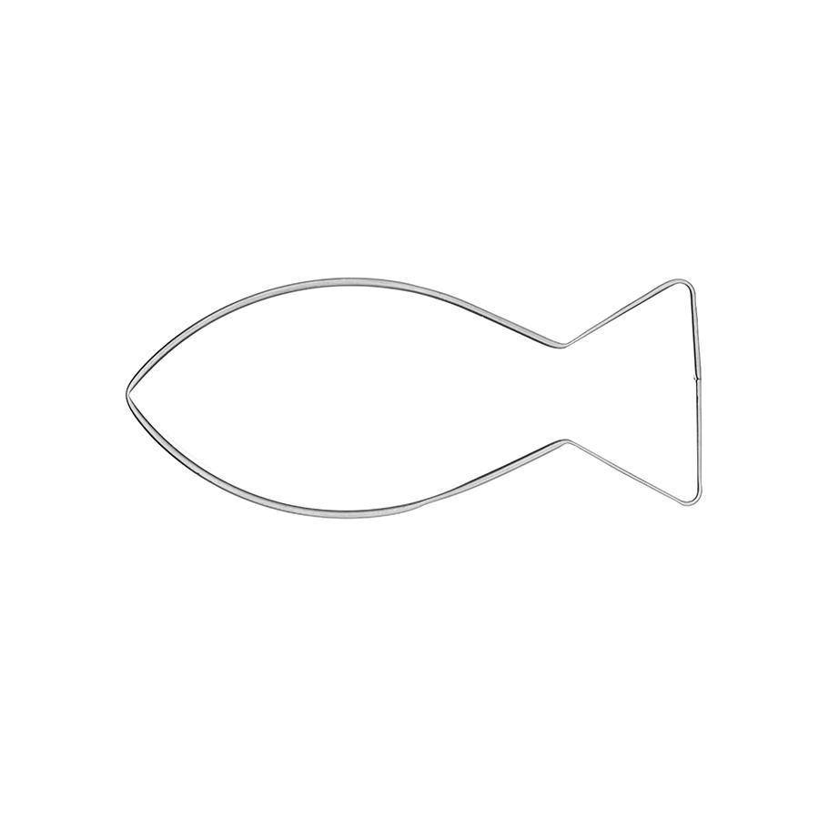 Christenfisch mittel - Keksausstecher