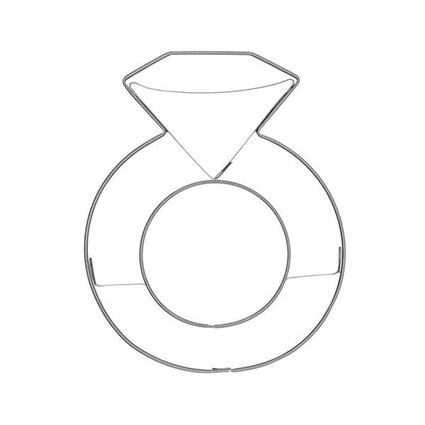 Diamantring - Keksausstecher