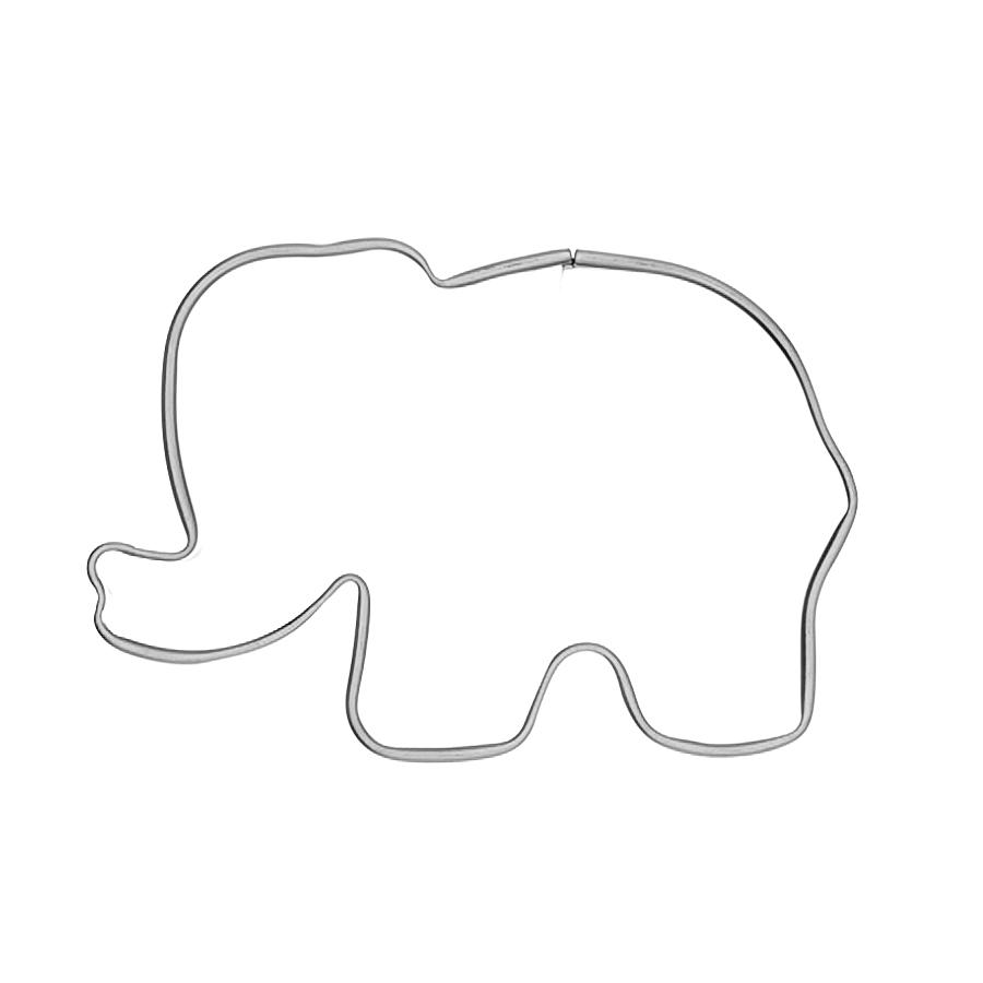 Elefant - Keksausstecher