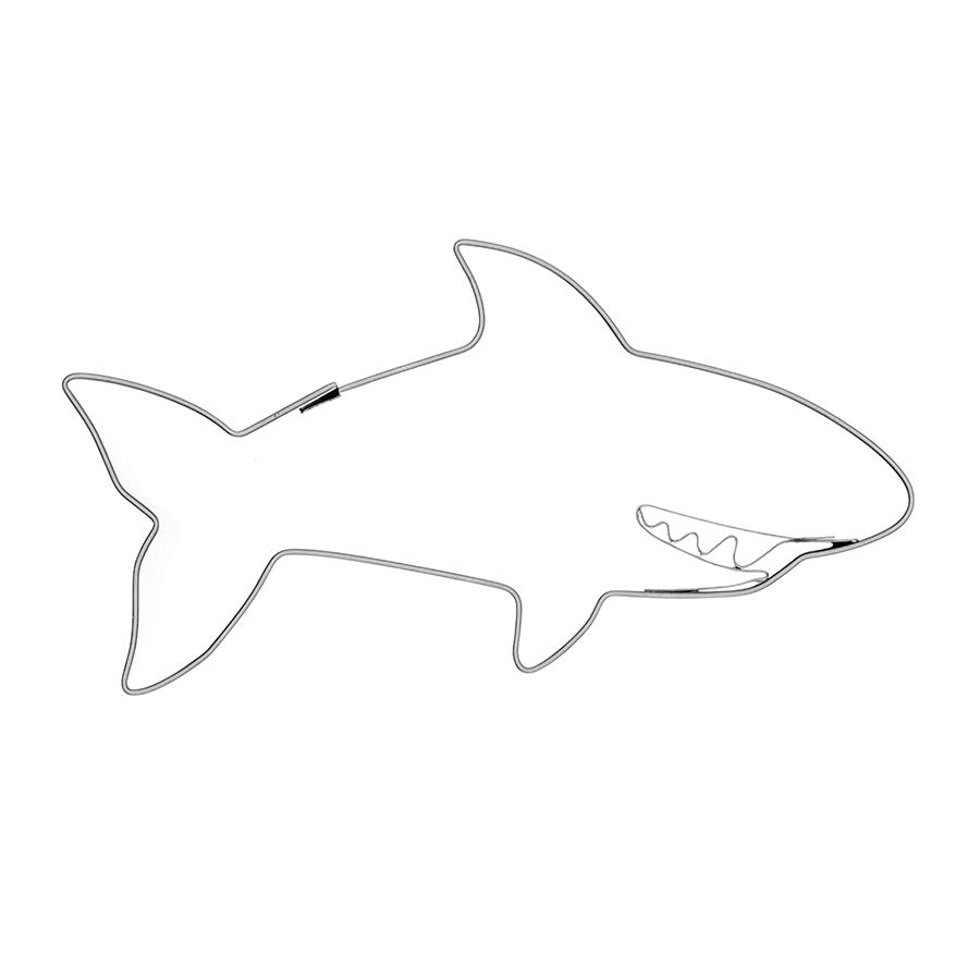 Haifisch lachend - Keksausstecher
