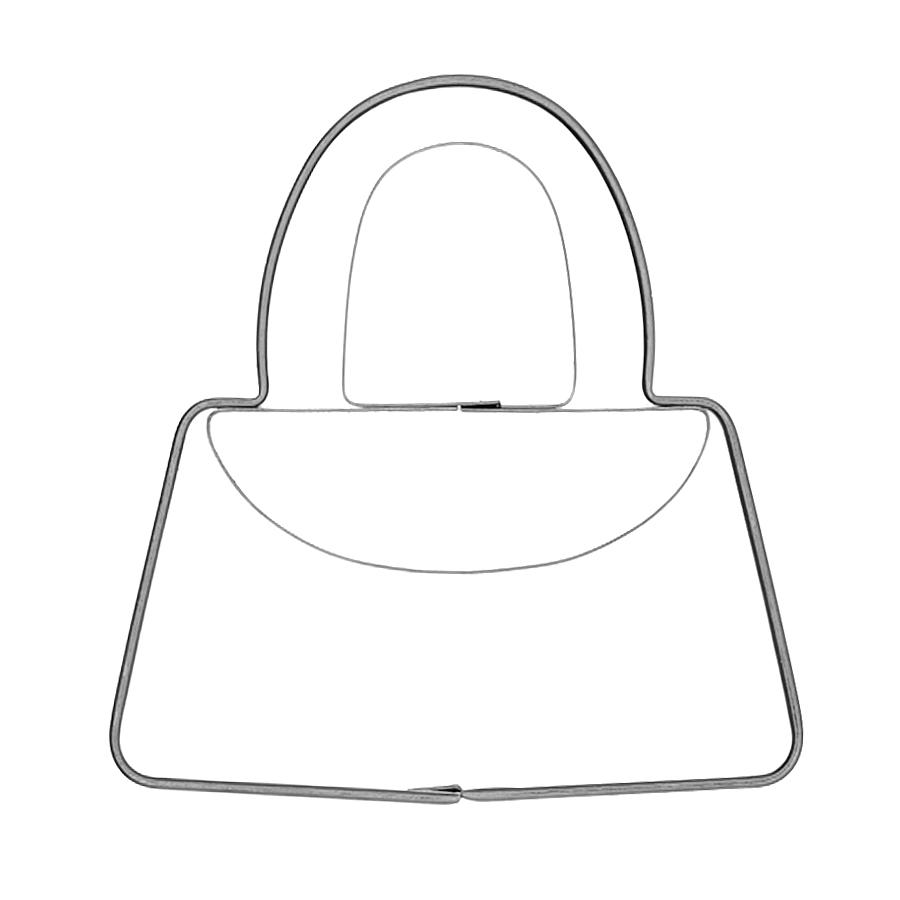 Handtasche klein - Keksausstecher