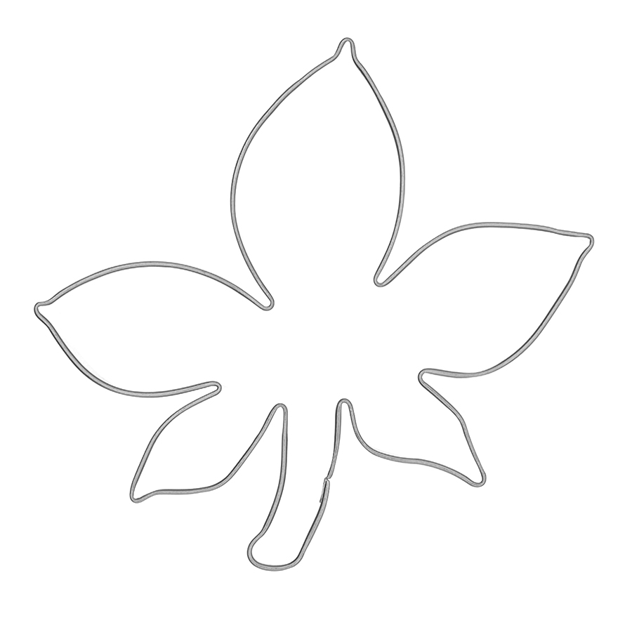 Kastanie - Keksausstecher