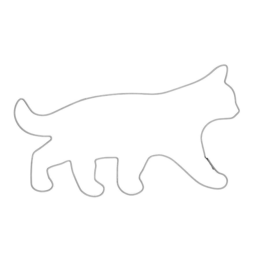 Katze schleichend - Keksausstecher