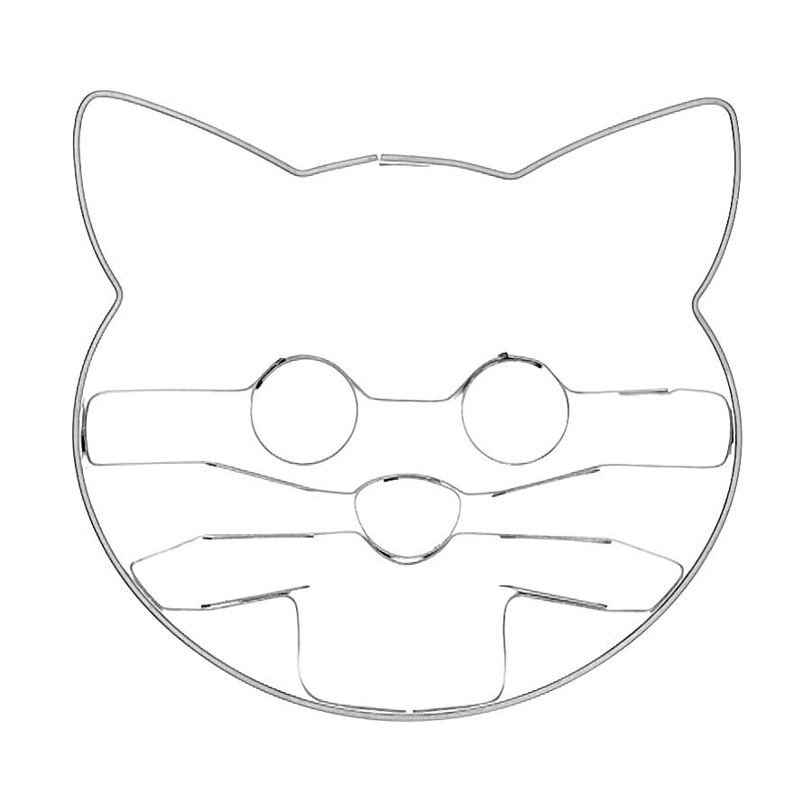 Katzenköpfchen - Keksausstecher