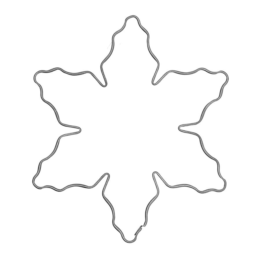 Schneeflocke - Keksausstecher