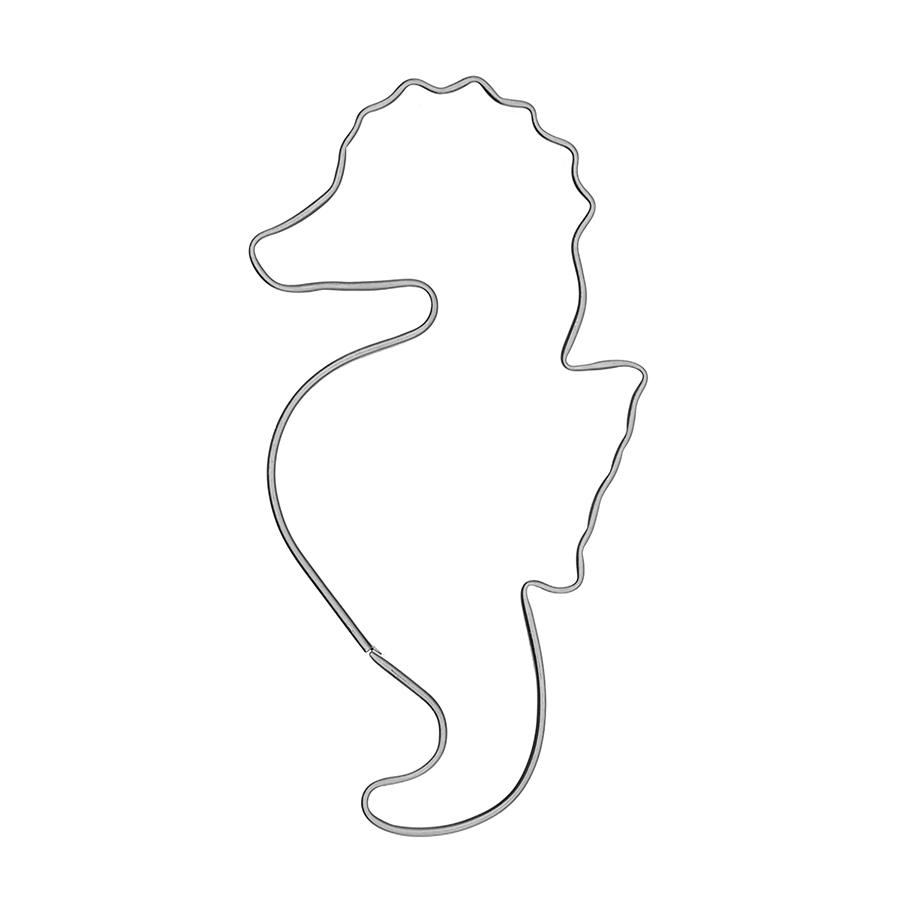 Seepferdchen -Keksausstecher