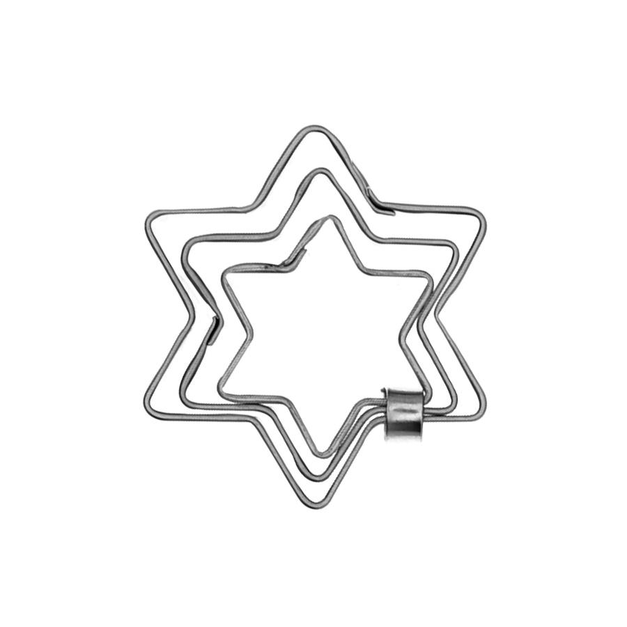 Sterneset 3 teilig - Keksausstecher